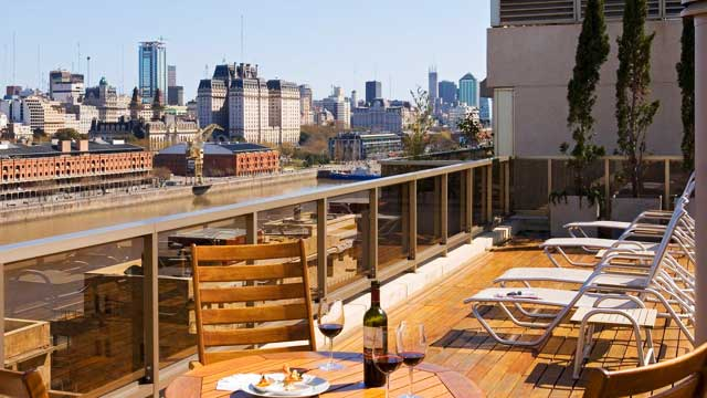 Takbar BHotel Madero i Buenos Aires