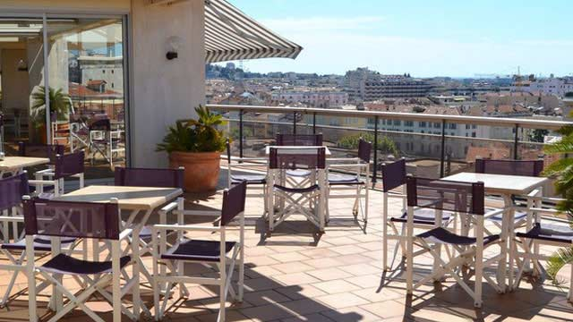 Rooftop bar Cannes Club Maintenon in Cannes