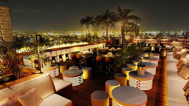 Rooftop bar Dubai 40 Kong in Dubai