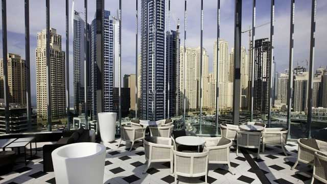 Rooftop bar Dubai Atelier M in Dubai