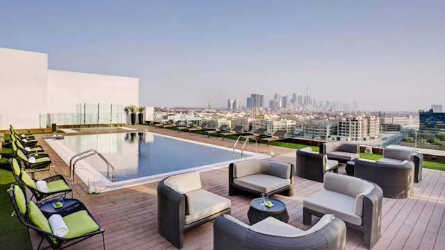Rooftop bar Dubai Melia Hotel in Dubai