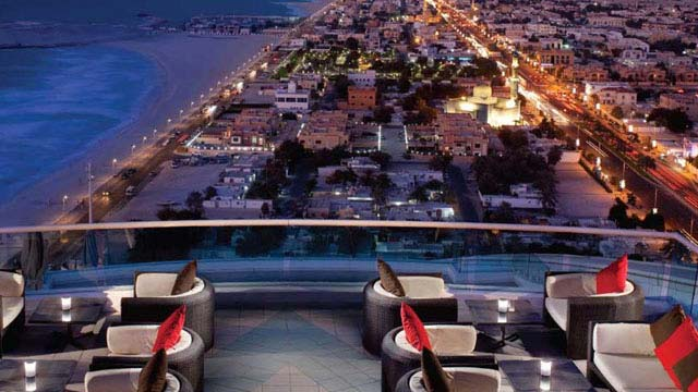 Rooftop bar Dubai Uptown in Dubai