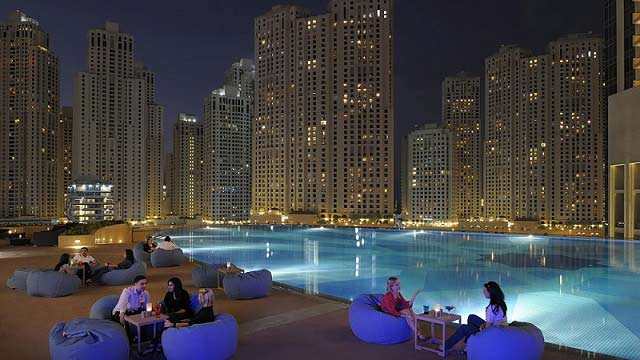 Rooftop bar Dubai The Address Dubai Marina in Dubai
