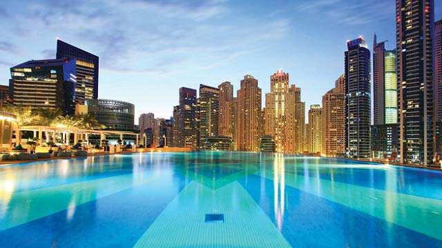 Takbar The Address Dubai Marina I Dubai Rooftopguiden Se