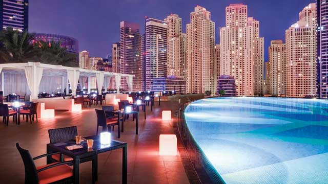 Takbar Dubai The Address Dubai Marina i Dubai