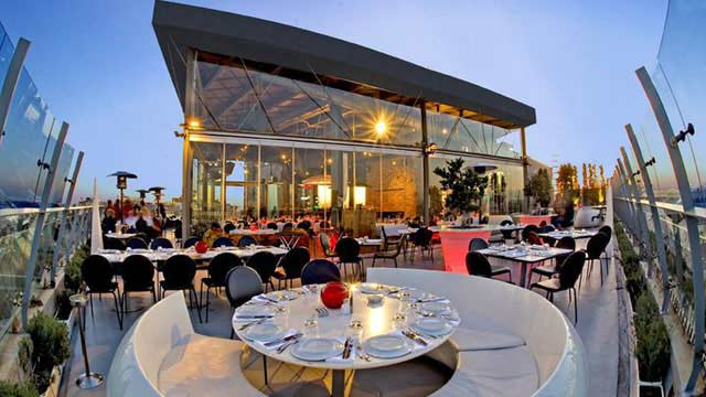 Rooftop bar Istanbul 360 in Istanbul