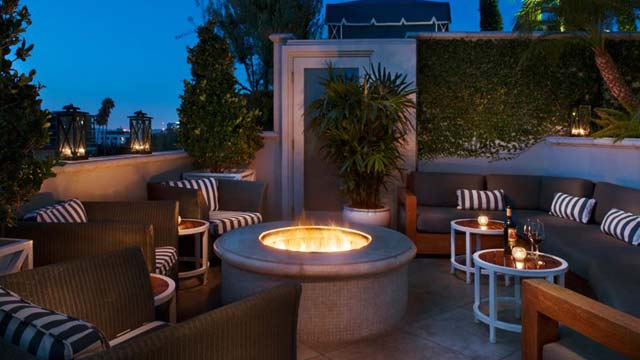 Takbar LA The Roof Garden at the Peninsula Beverly Hills in Los Anhgeles