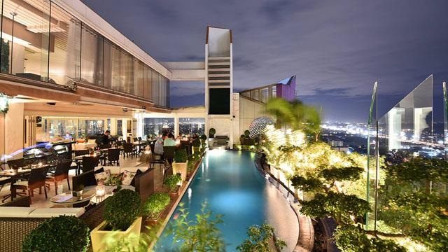 Rooftop bar Manila Alabang The Nest in Manila