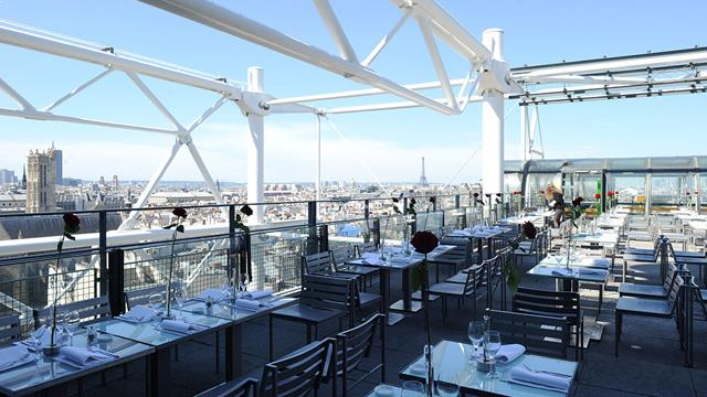 Takbar Paris Le Georges (at the Pompidou) i Paris