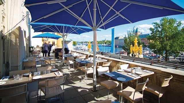 utomhus restaurang stockholm