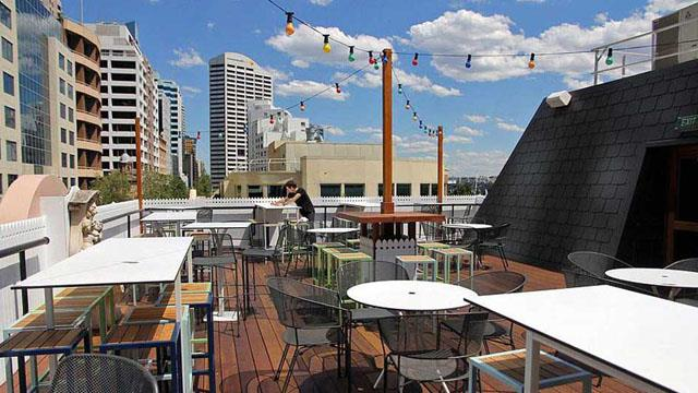 Rooftop bar Sydney The Bristol Arms in Sydney