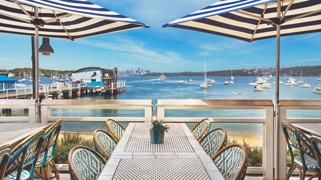 Rooftop bar Sydney Watsons Bay Boutique Hotel in Sydney