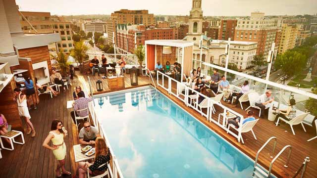 Takbar Washington DNV Rooftop Lounge i Washington